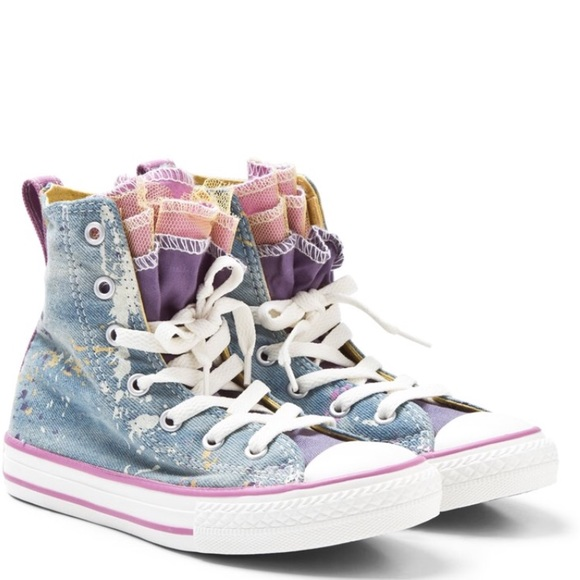 abbf72559f1d Converse Other - Converse Party Express Yourself High Tops